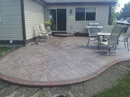 Backyard Stamped Concrete Ideas 1000 Images About Home Patio Ideas On Pinterest Backyard Truly