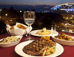 european cuisine grilled rib eye steak with au jus picture of danube european