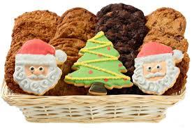 cookies for santa christmas gift basket holiday christmas
