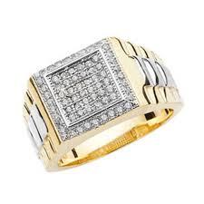 gold square rings images Mens 9ct gold cz square signet ring 10 grams 14065 newburysonline jpg