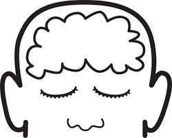 Brain Brain Coloring Page