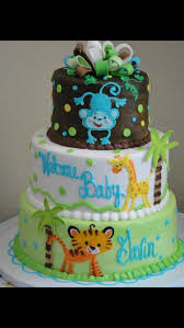 jungle baby shower cakes zoo animal baby shower cakes for a boy baby shower cakes a