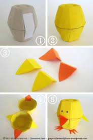 Easter Decorations For Your Car by Easter Egg Carton Chicks Paper Plate And Plane