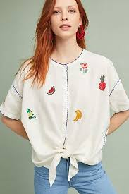 embroidered blouses blouses shirts tops for anthropologie