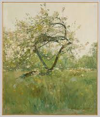 peach blossoms u2014villiers le bel childe hassam 1979 490 9 work