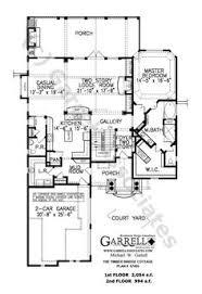 craftsman style open floor plans astonishing cottage style house plans with open floor plan 1