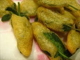 sauge en cuisine beignets à la sauge pour l apéritif la cuisine italienne