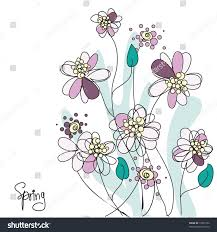 spring floral background vector stock vector 72697702 shutterstock