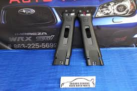 subaru seat belt 2015 2018 subaru impreza wrx sti b pillars seat belt covers black