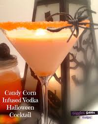 candy corn infused vodka halloween cocktail 1 jpg