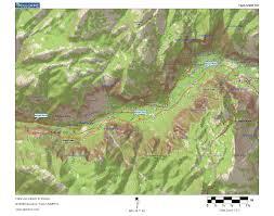 Yosemite Topo Map The Ecological Angler Merced River In Yosemite National Park