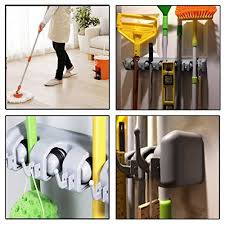 Organizer For Garage - port wall mounted mop and broom holder storage broom holders