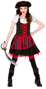 Halloween Costumes Girls Age 16 Pirate Age 8 9 10 Kids Fancy Dress Caribbean Book Childs