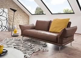 lambermont canapé durban salon design en cuir ou tissu avec des pieds en métal