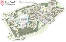Northeastern University Campus Map Fairfield University Map Uptowncritters
