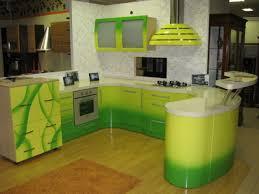 Kitchen Cabinets Painted Green Kitchen Furniture Painted Green Kitchennets With Light Counter