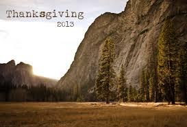 thanksgiving in yosemite lita s world