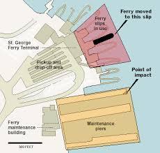 Ferry Terminal Floor Plan Deadly Crash On Staten Island Ferry