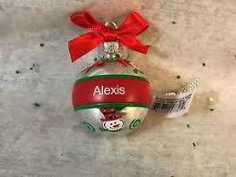 ganz cheerful snowman ornament personalized keepsake
