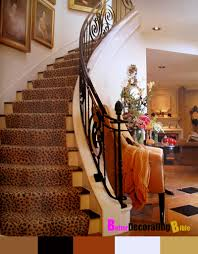 delectable image of staircase design ad decoration using black