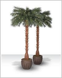 breezy bay pre lit artificial palm trees tree market