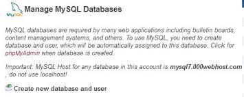 cara membuat database baru mysql cara membuat database di web hosting root93 co id computer