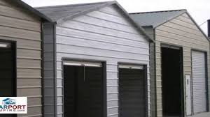 Carports And Garages Carports 18 U0027 Vs 20 U0027 And Larger Steel Carport And Garage By