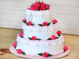 party cake 3 tier vanilla party cake perfection cake bakingo