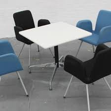 Vitra Meeting Table Vitra Eames Table 800mm X 800mm Square Meeting Table White