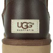 s ugg australia mini zip boots ugg australia mini zip brown leather boot