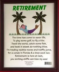 retirement plaque retirement plaque only gift joke with framed sign