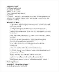 Marketing Assistant Resume Marketing Resume Samples 43 Free Word Pdf Documents Download