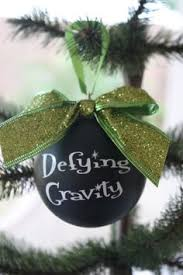 wicked ornament defying gravity wicked gift baby it u0027s cold