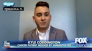 watch samantha bee mocked young cancer patient for his u0027nazi hair