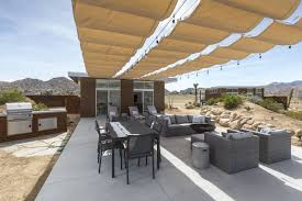 modern desert home design this modern homestead with a vintage trailer offers adventure in