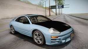 car mitsubishi eclipse mitsubishi eclipse for gta san andreas