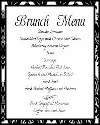 menu for brunch wedding brunch menu ideas inspiration navokal
