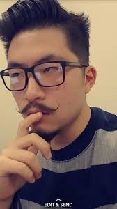 Handlebar Mustache Meme - me 19 y o chinese american with a handlebar mustache 2 months