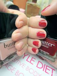 review butter london nail lacquers and hardwear topcoat anna