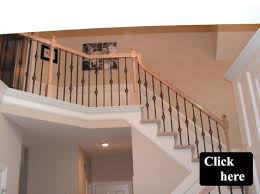 Replacement Stair Banisters Iron Spindle Gallery Kc Wood