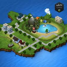 D D World Map Maker by 3d Map Generator 2 Isometric By Orange Box Graphicriver