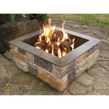 backyard fire pits for sale stylish lowes square fire pit insert for nice lowes outdoor fire