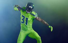 seahawks are wearing the best color rush uniforms yet on u0027thursday