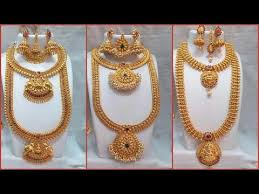 bridal jewelry necklace set images South indian traditional bridal jewellery set designs collection jpg