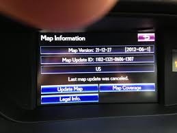 lexus es update most current map software update clublexus lexus forum discussion