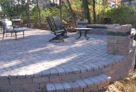 brick for patio brick patio installation mequon ozaukee hardscaping
