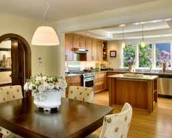 Open Kitchen And Living Room by Open Dining Room Dining Room Dining Room Flooring Ideas Open