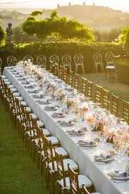 Wedding Breakfast Table Decorations Best 25 Long Table Reception Ideas On Pinterest Long Wedding