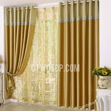 Bird Lace Curtains with Polyester High Quality Decorative Living Room Gold Lace Curtains