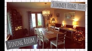 summer home tour the dining room detailed tour youtube